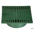 "NDS - 882 - 8"" Sq Grate-Green"
