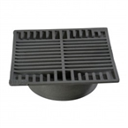 "NDS - 883 - 8"" Sq Grate-Gray"