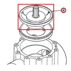 "Toro - 89-0815 - 2"" Replacement Diaphragm Assembly for 252 Series Valves"