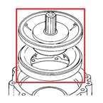 "Toro - 89-0817 - 1 1/2"" Replacement Diaphragm Kit for 252 Series Valves"