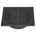 "NDS - 970 - 9"" Sq Grate-Black"
