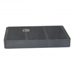 "NDS - 999 - 9"" Sq Grate-Grey"