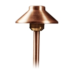 "FX - AN-20-18R-CU - AN Path Light, 20 Watt Xenon, 18"" Riser, Copper"