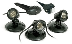 Atlantic Water Gardens - AWGLED3 - LED Pond Light 3 Pack - 4.8 Watt