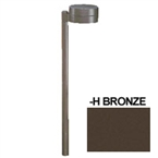 HADCO - CPL12-HS7 - 12V Flat Roof Pathlyte, Bronze