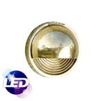 HADCO - DCL1DC-N - Decklyte Cool 4K LED Natural Brass Finish