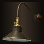 Unique - ENTE-24-20 - 24V Enterprise Brass Wall Light, 20W Xelogen