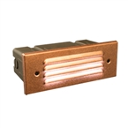 FX - LMZD2LEDCU - LM LED Wall Light, 2LED Board, with ZD Option, Copper