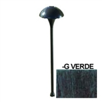 HADCO - MUL4-GS7 - 12V Mushroom Pathlyte, with Mounting Stake, Verde
