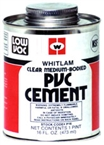 Pint PVC Cement - Clear
