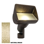 FX - PB-1LED-BS - PB LED Wall Wash Light, 1LED Board, Natural Brass