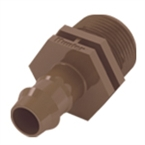 "Adptr 3/4"" NPT-Brb17mmBox Dripline Fit"
