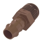 "End Cap 1/2"" NPT 17mm Box Dripline Fit"