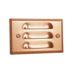 HADCO - RLL2-PC -  Mini Recess Louver Steplght Copper