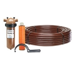 "Netafim - TF10L412-1100CV / 1"" Long Techfilter w/ 1100 .4 GPH 12"" CV"