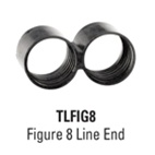 Netafim TLFIG8 - Netafim End-Of-Line Figure 8 (17mm)