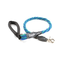 Bun-Gee Pup-EE Single Walker Dog Leash - X-Large / Teal/Blue 3 Foot