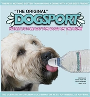 DogSport Water Bottle Cap for Dogs - One Pack