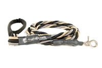 Bun-Gee Pup-EE Single Walker Dog Leash -   X-Large / Black/Gold/Grey 6 Foot