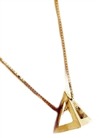 Traveler Life Pyramid necklace by Janesko