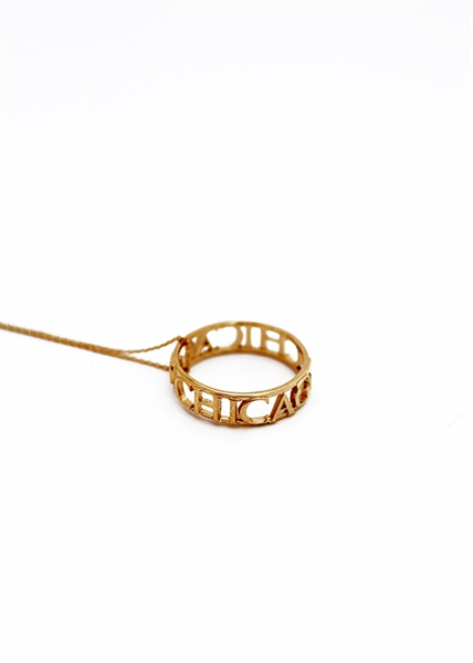 Traveler Chicago City Ring necklace by Janesko