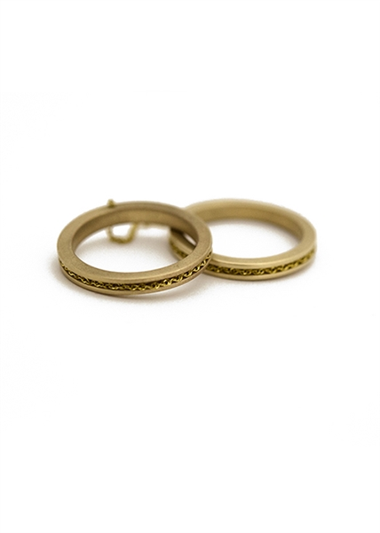 Custom Double 14k Gold Ring