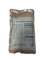 MRE Entree Chili with Beans