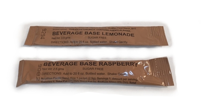 MRE Beverage Base Drink Mix - 100 Pack