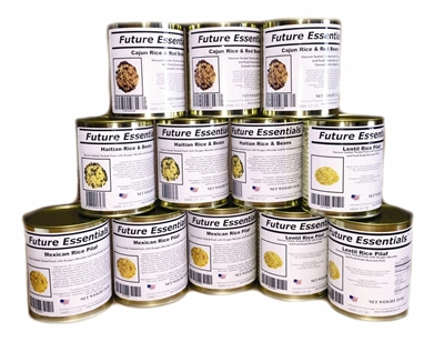 Canned Rice Variety