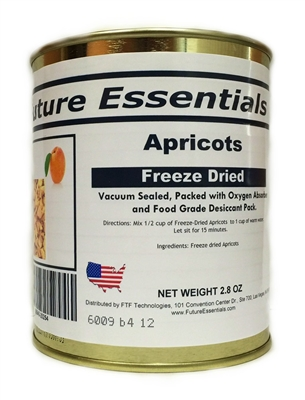 Future Essentials Freeze Dried Diced Apricots