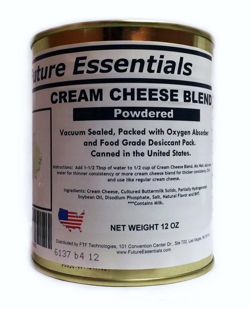 cream cheese shelf life