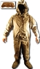 NBC Chemical Suit Rubber 2 Piece Military Surplus