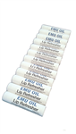 Emu oil lip balm and lip refresher 12 pack