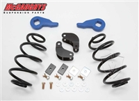 "2001 - 2006 Chevy/GMC Tahoe, Yukon, Escalade, Denali, ESV, EXT, Suburban, Avalance 1/2 Ton Drop kit, 2"" Front and 3"" Rear (01-06 TAHOE 2/3"" ECON., For Light Duty SHOCKS, 1 BOX)"