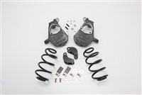 "2007-14 Chevy Tahoe, Suburban, Avalance, Escalade, Denali, Yukon, Yukon XL Lowering Kit 2"" Front, 3"" Rear 07T23DHD (07-14 TAHOE/SUB/ESCALADE/DENALI 2/3"" DELUXE, FACTORY SHOCKS=AIR)"