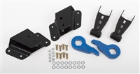 Mcgaughys 1999-2006 and 2007 classic body style extend cab and crew cab 2/4 drop kit