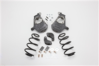 "2001 - 2006 Chevy/GMC Tahoe, Yukon, Escalade, Denali, ESV, EXT, Suburban, Avalance 1/2 Ton Drop kit, 2"" Front and 3"" Rear 01E23D/200323TDHD/2003A23DHD (01-06 ESCALADE/TAHOE/SUB/AVAL. 2/3"" DELUXE DROP, REAR For AIR & HD SHOCK)"
