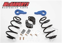 "McGaughy's 2001 - 2006 Chevy/GMC Tahoe, Yukon, Escalade, Denali, ESV, EXT, Suburban, Avalance 1/2 Ton Drop kit, 2"" Front and 3"" Rear (01-06 ESCALADE/TAHOE/SUB/AVAL. 2/3"" ECON. DROP,For AIR/HD SHOCKS,)"