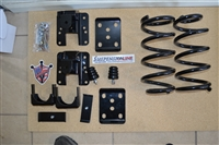 34001  2007-2013 Quad Silverado (2WD ONLY) 2/4 Lowering Kit Econ. w/COILS,FLIP KIT, LIFT HANGER