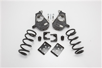 "34004 2007-2013 Quad Silverado 4/7"" Lowering Kit w/SPINDLES,COILS,FLIP KIT, & BUMP STOPS"