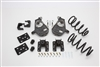 "34005 2007-2013 Quad Silverado 3/5"" Lowering Kit w/ SPINDLES,COILS,REAR HANGERS, BUMP STOPS & FLIP KIT"
