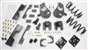 "34007 2007-2013 Quad Silverado 3/5"" Lowering Kit w/ C-NOTCH,SPINDLES,COILS,REAR HANGERS, BUMP STOPS & FLIP KIT"