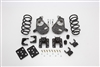 "34015 2007-2013 Quad Cab Silverado 4/6"" Lowering Kit w/SPINDLES,COILS,REAR HANGERS,SHORT SHACKLE,FLIP,B.S."