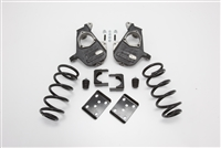 "34024 2007-2013 S-Cab Silverado 4/7"" Lowering Kit w/SPINDLES,COILS,FLIP KIT, & BUMP STOPS"