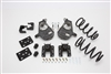 "34025 2007-2013 S-Cab Silverado 3/5"" Lowering Kit w/ SPINDLES,COILS,REAR HANGERS, BUMP STOPS & FLIP KIT"