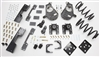 "34027 2007-2013 S-Cab Silverado 3/5"" Lowering Kit w/ C-NOTCH,SPINDLES,COILS,REAR HANGERS, BUMP STOPS & FLIP KIT"