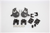 "34034 2007-2013 S-Cab Silverado 2/4"" Lowering Kit w/ SPINDLES,REAR HANGERS,FLIP KIT)"