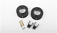 54310  2003-2013 DODGE RAM 2500/3500. FRONT LEVELING KIT (2.5 LIFT) (2WD & 4WD) (COIL SPACERS & SHOCK EXTENDERS)