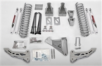"McGaughy's Ford F-250 Lift Kit for 2005-2007 4WD, Yields 6"" Lift - Phase 1 (Silver Powder Coat)"