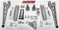 "McGaughy's Ford F-250 Lift Kit 2005-07 4WD 8"" Lift  - Phase 2 (Silver Powder Coat)"